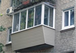 Застекление балконов в Днепропетровске