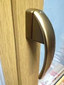Ручка оконная Roto Swing бронза