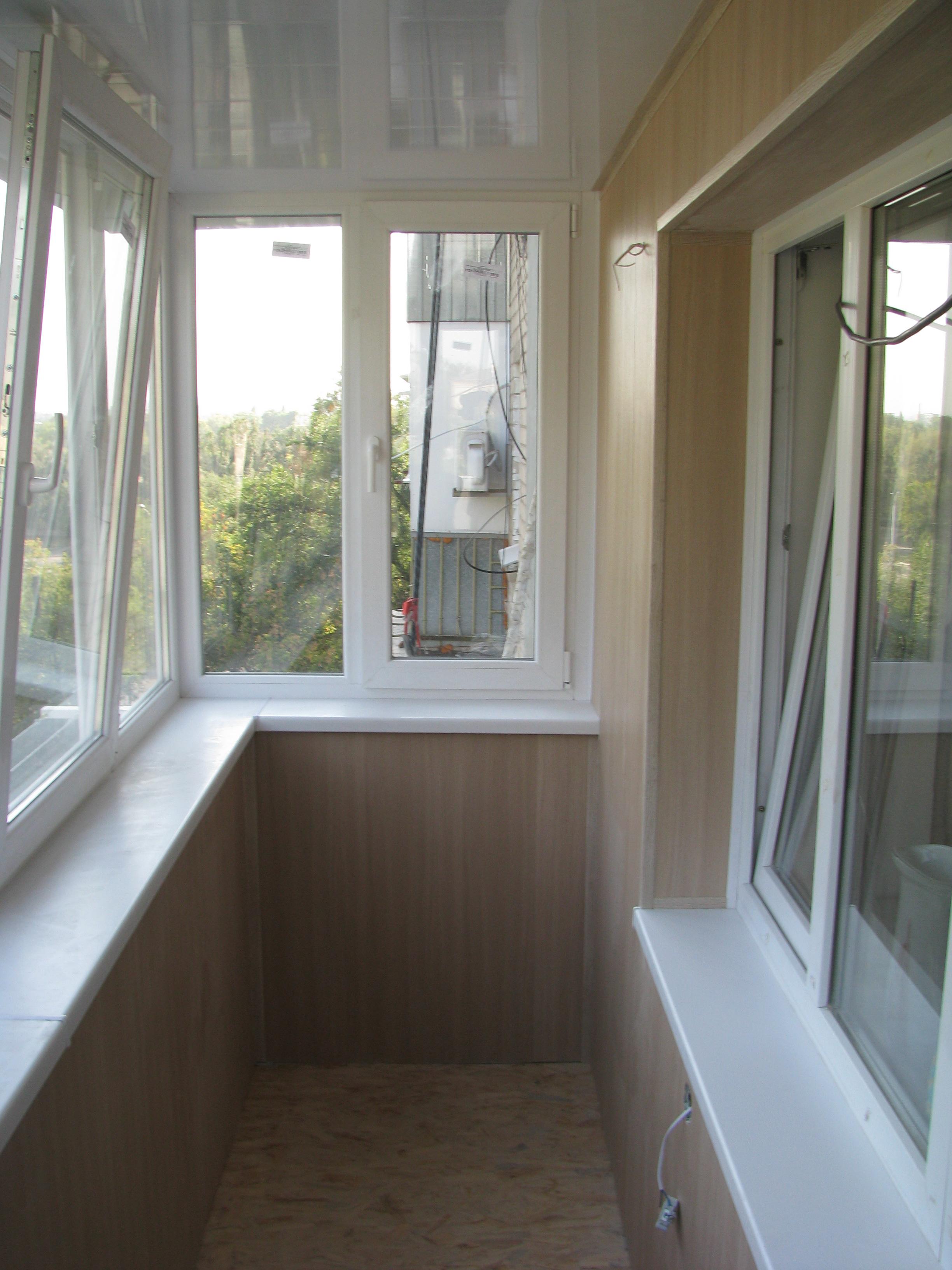 """Балкон под ключ пр. правды от """"окна+"""" окна."""