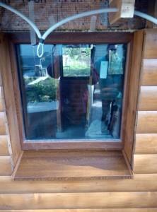 окна для беседок