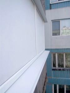 Остекление г-образного балкона в г.днепр окна.