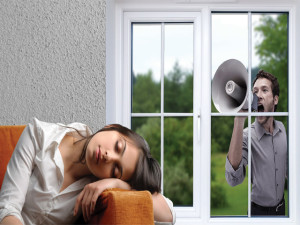 Звуковая изоляции пластиковых окон