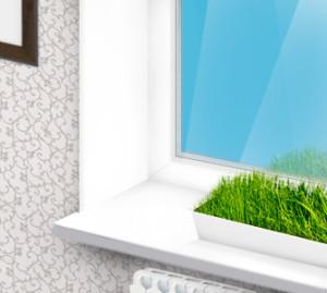 Откосы на пластиковых окнах